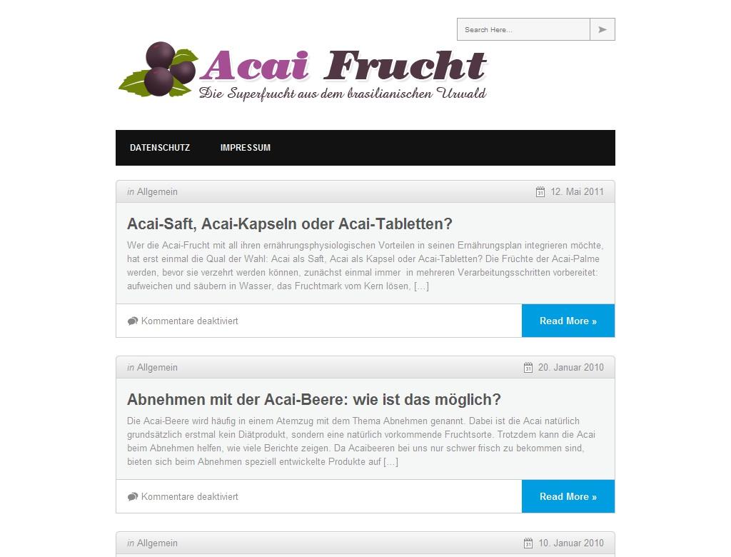 Acaifrucht