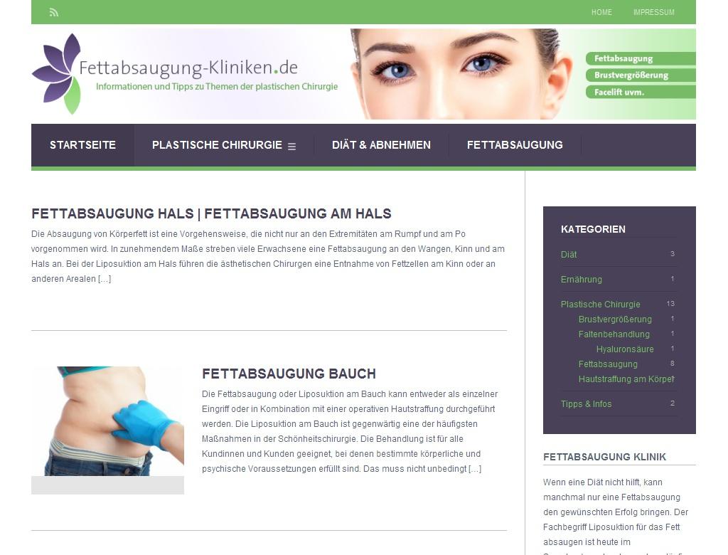 Fettabsaugung-Kliniken