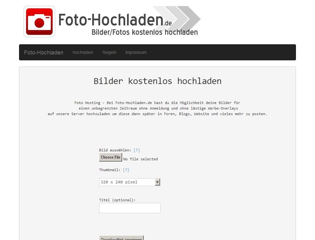 Foto-Hochladen