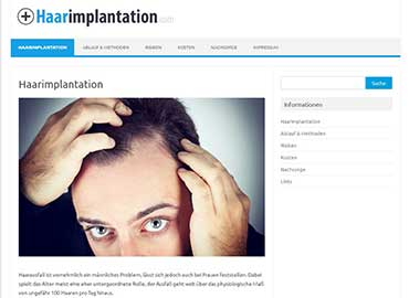 Haarimplantation
