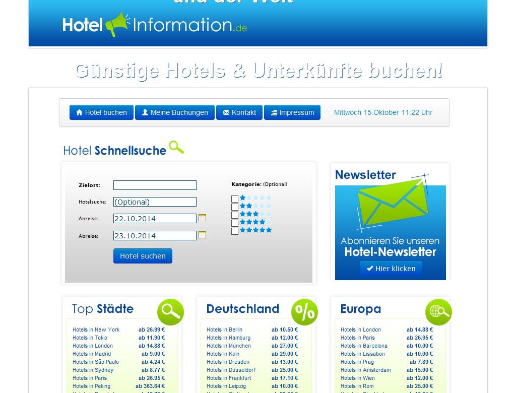 Hotelinformation